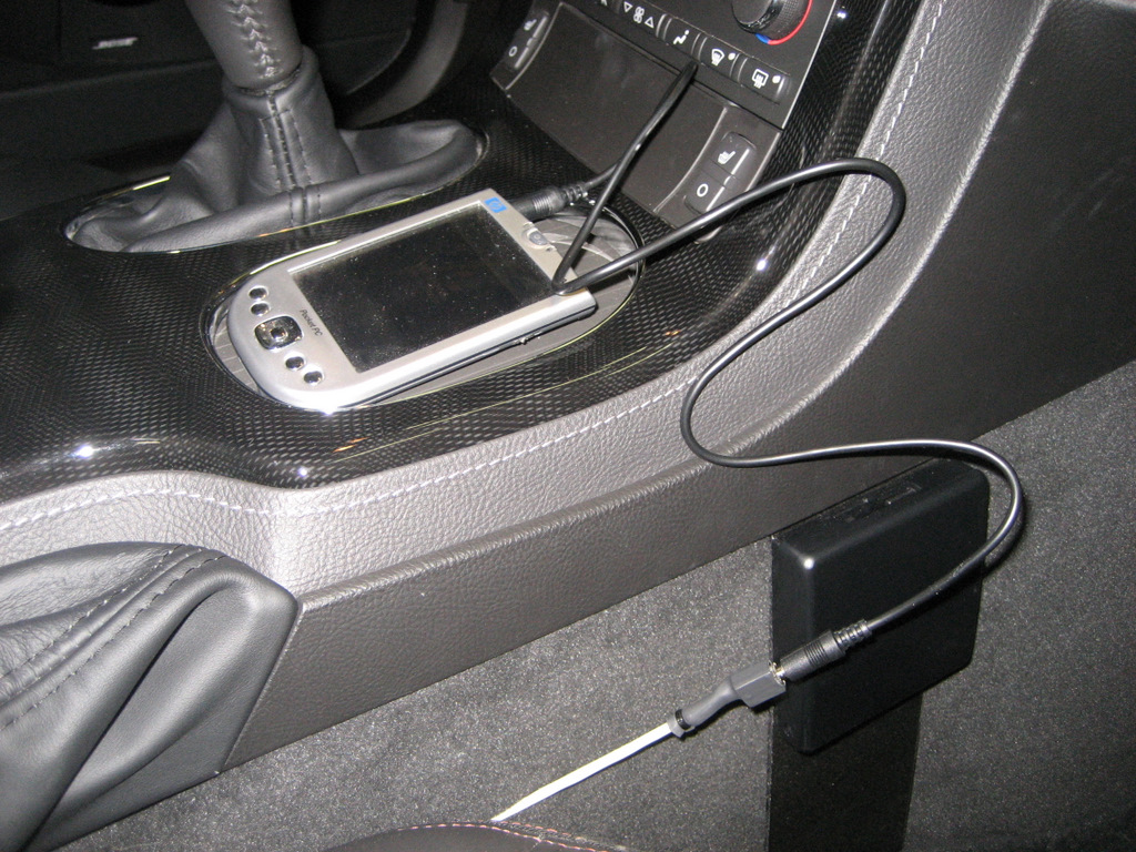 Aux Ipaq Connected on Under Carpet Cable