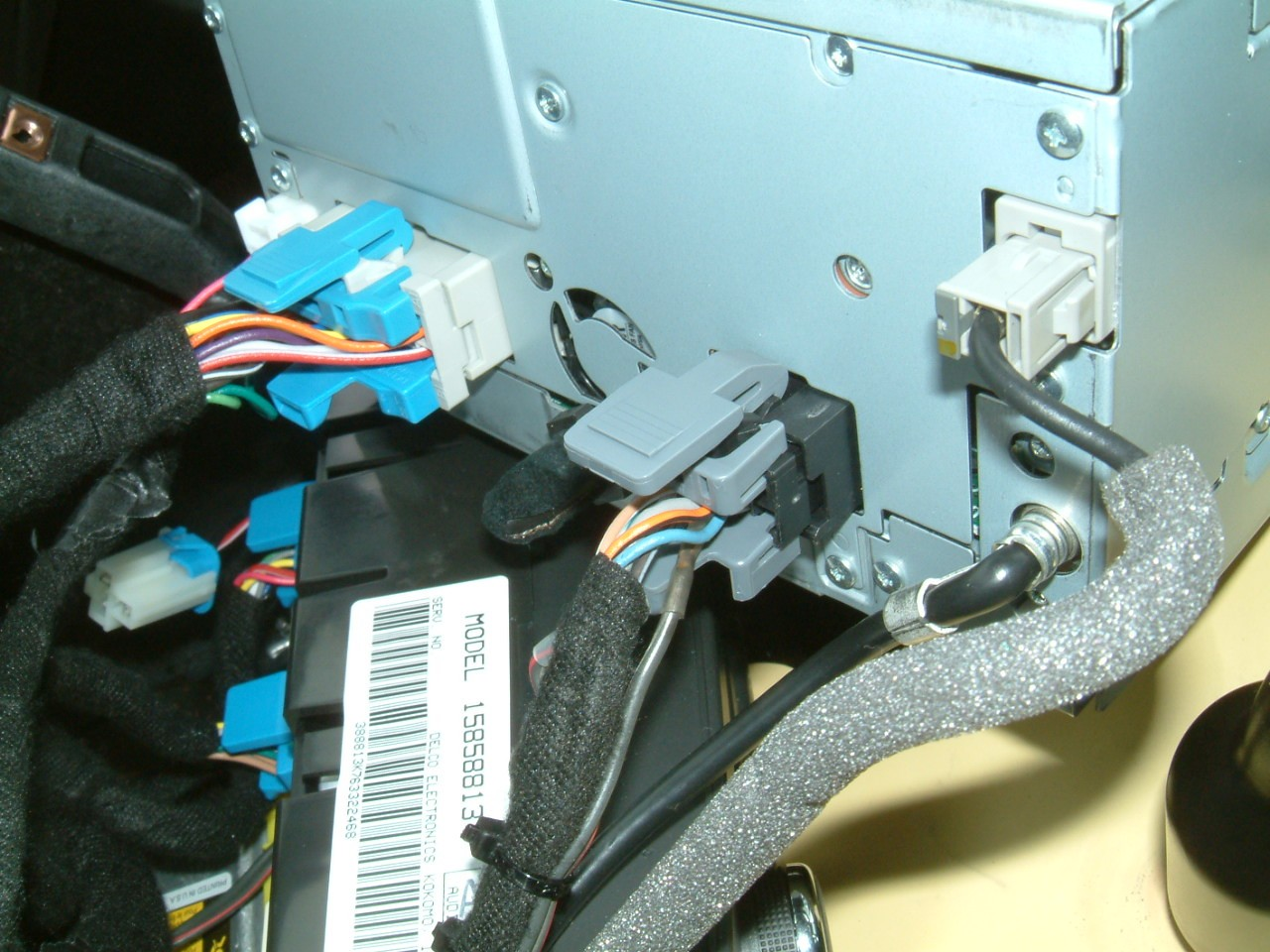 how-to install parrot bluetooth in nav coupe c6 - CorvetteForum ...