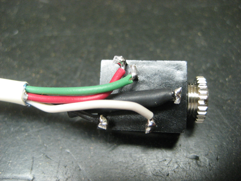 5mm 4 Pole Headphone Jack Wiring In Addition Rca Audio Cable 3 5mm